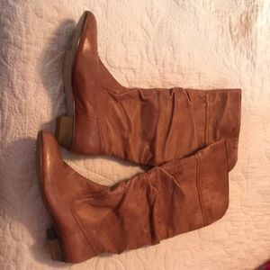 Like new leather Nine West knee high boots